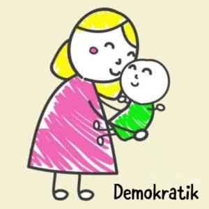 demokratik ebeveynlik