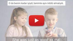çocukların gözünden cinsiyet eşitliği