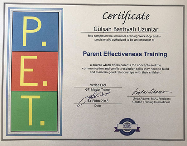 Gordon Training International - Etkili Anne-Baba Eğitimi